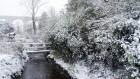 The bridge in the snow..   #snowday
